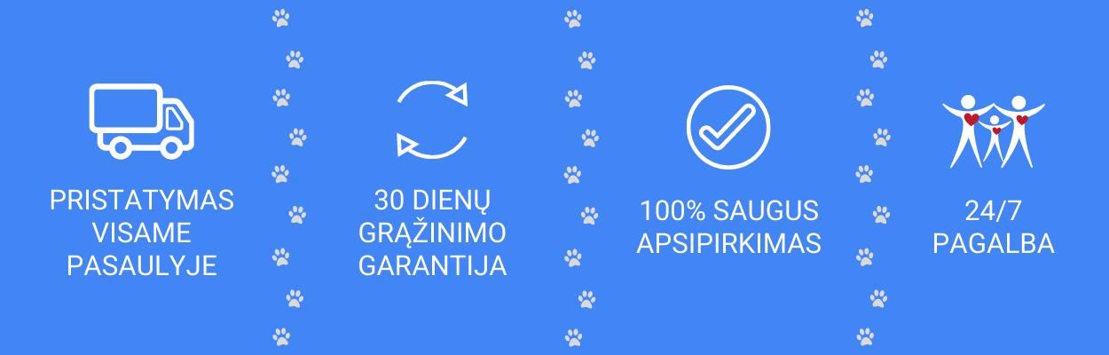 MyDog.lt yra prekių šunims internetinė parduotuvė - pristatymas visame pasaulyje, 30 dienų grąžinimo garantija, 24/7 pagalba